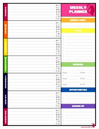 pretty menu planner template templatezet