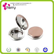 plastic cosmetic loose powder container with brush buy mini