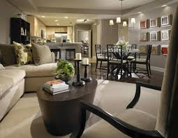 Living Room Seating For Small Spaces Kitchen Beautiful Living Dining Kitchen Room Design Ideas