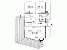 a frame house plan eplans a frame house plan three bedroom a frame 1416 square