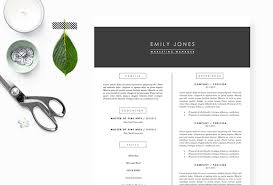 Clean Resume Template 50 Cv Resume U0026 Cover Letter Templates For Word U0026 Pdf 2017