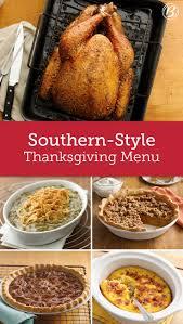 southern style thanksgiving menu cornbread potato pie