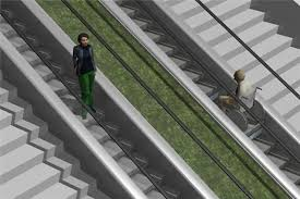 student designs innovative escalator that is accessible to all