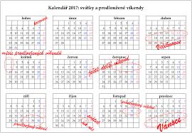 Kalendář 2018 Svátky Kalendář Svátků 2017 Dny Volna 2017 Prodloužené Víkendy Finance Cz