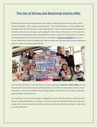 the of giving and receiving charity gifts 1 728 jpg cb 1345698430