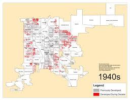 Denver Metro Map by Denver U0027s Single Family Homes By Decade 1940s U2013 Denverurbanism Blog