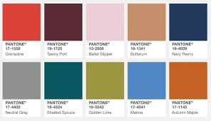 color of intelligence pantone fall color picks what is the color forecast for 2018