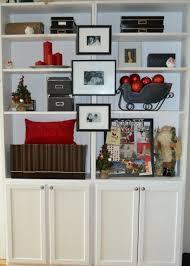 bookshelf decorations 2013 christmas bookcase decor ideas bookshelf organization and