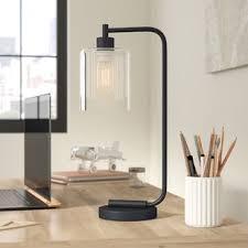 black table lamps you u0027ll love wayfair