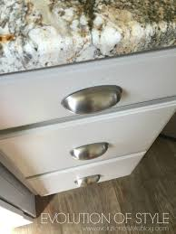 an epic painted kitchen cabinet transformation evolution of style master bathroom design plan a revere pewter kitchen cabinet makeover