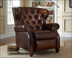 Living Room Leather Chair Living Room Interesting And Cozy Leather Recliners For Modern
