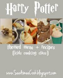 Dinner Party Menu Ideas For 12 See Aimee Cook Harry Potter Themed Menu Recipes Kids Cooking
