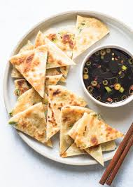 scallion pancakes recipe with video simplyrecipes com