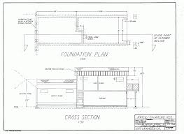 house layout drawing foundation construction notes cpregier tdj3m architectural design