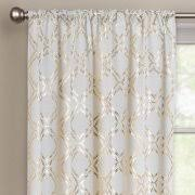 Gold Metallic Curtains Better Homes And Gardens Metallic Trellis Gold Or Silver Foil