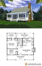 600 Sf House Plans Cabin Style House Plan 1 Beds 1 Baths 600 Sq Ft Plan 21 108