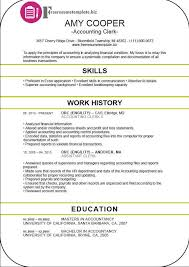 Resume For Accounts Job by Accounting Clerk Resume Berathen Com