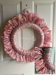 ribbon wreath easy ribbon wreath for any tobethode
