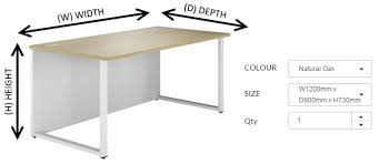Computer Desk Depth Understanding Office Furniture Measurements Kit Out My Office
