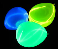 glow in the balloons glow sticks in balloons activedark glowing ideas
