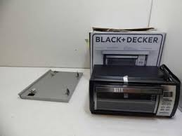 Under Cabinet Toaster Oven Mount Black Decker Tros1000d Under Cabinet Toaster Oven 335713 L24