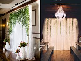 wedding backdrop with lights 8 gorgeous pipe drape wedding backdrops bridalpulse