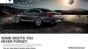 bmw commercial bmw 6 series gran coupe priced 79 500 euros