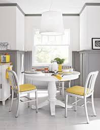Round Table Granite Bay 17 Expandable Wooden Dining Tables Yellow Accents Wooden Dining