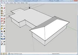 building your first house in sketch up 6 steps
