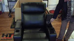 row one plaza home theater seating youtube