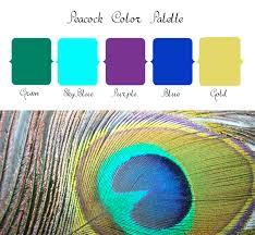 peacock wedding peacock wedding color palette