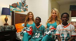 Dolphins Team With Rooms To Go For Bedroom Makeover - Rooms to go kids miami