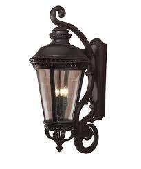 Murray Feiss Light Fixtures Murray Feiss Ol1905 Castle 15 Inch Wide 4 Light Outdoor Wall Light