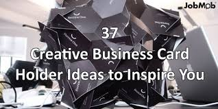 Card Holder Business 37 Creative Business Card Holder Ideas To Inspire You