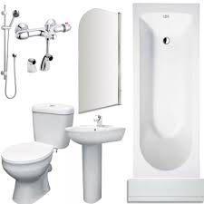 shower bath suites available from showerbathsuites co uk complete bathroom package 1 white and chrome inc toilet and basin set