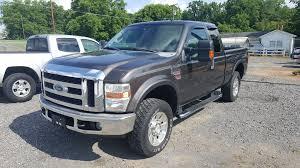 Ford F250 Pickup Truck - 2008 ford f250 super duty xlt diesel 4x4 grey 7060 sold in