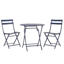 home decorators collection follie navy 3 piece all weather patio