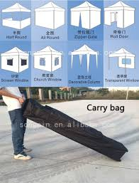 3x3m foldable cheap easy pop up tent with side wall for exhibition