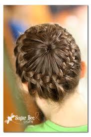 howtododoughnut plait in hair random and yep kitchen update crown braids and french braid