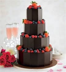 38 best chocolate wedding cakes images on pinterest chocolate