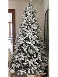 8 foot led christmas tree white lights christmas trees amazon com