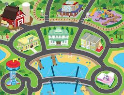 paw patrol adventure bay play table paw patrol mega playmat with bonus vehicles toys r us