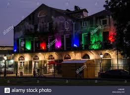 New Orleans Kitchen by New Orleans Usa July 13 2015 Multicolored Lights Building