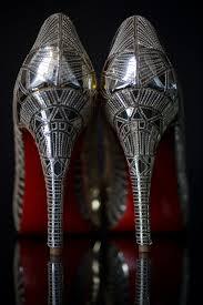 silver peep toe christian louboutin bridal heels you can u0027t go