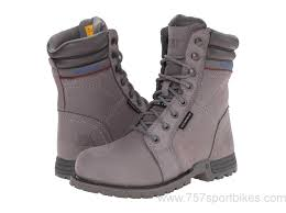 caterpillar womens boots australia caterpillar womens echo waterproof steel toe grey