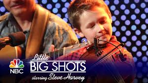 11 years old that has highlights at the bottom of their hair little big shots fiddler singer carson peters episode highlight