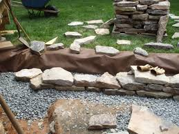 beautiful inspiration how to build a garden wall excellent ideas