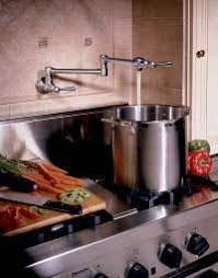 new pot filler from blanco deck mount pot fillers