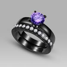 Vancaro Wedding Rings by Black And Purple Wedding Rings Throughout 1000 Images About