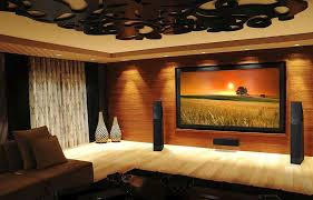 custom home theater design homes abc